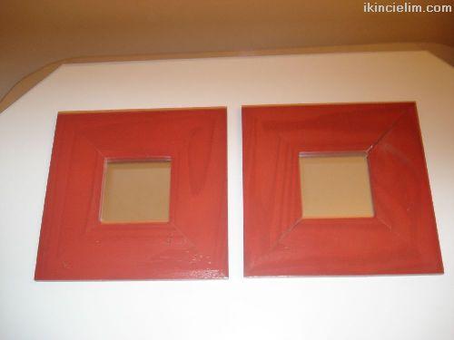 Ikea Malma Ayna 2 Adet 26x26 cm. Yepyeni