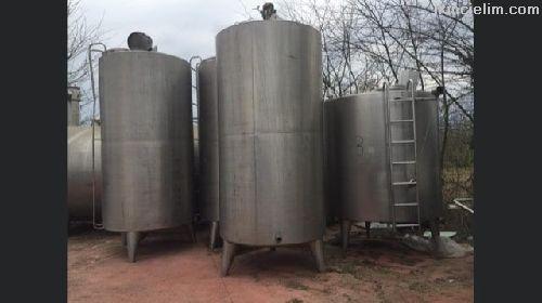 Süt soğutma ve depolama tankları