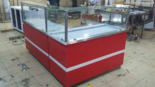 Çiğköfte Dolabı Ve Tezgahı Bankolu 4000 tl