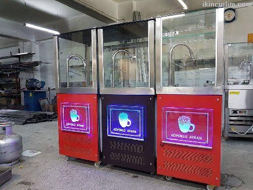 Ayran Makinesi Köpüklü Susurluk Ayran Makinesi
