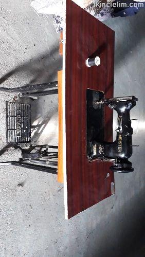 Omega 1930 tarihi antika dikiş makinesi