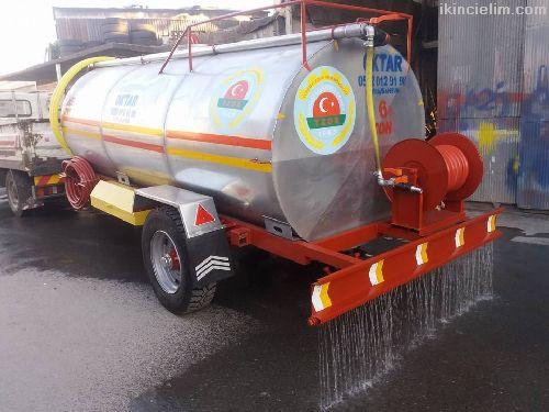 İtfaiye Tip Yol Yıkama  Pompalı Su Tankeri 5-6 Ton