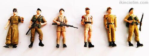 Afrika Lejyon Askerleri 1/35 Ölçek