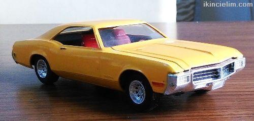 1969 Buıck Rıvıera 1/25 Araba Modeli