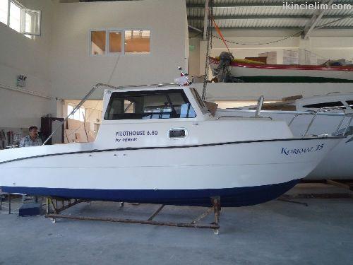 Pilothouse 6.80 balıkçı
