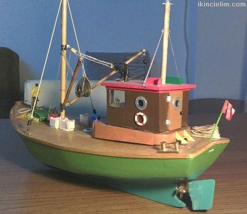 El Yapımı Rc Yüzer Model Balıkçı Teknesi - Fora