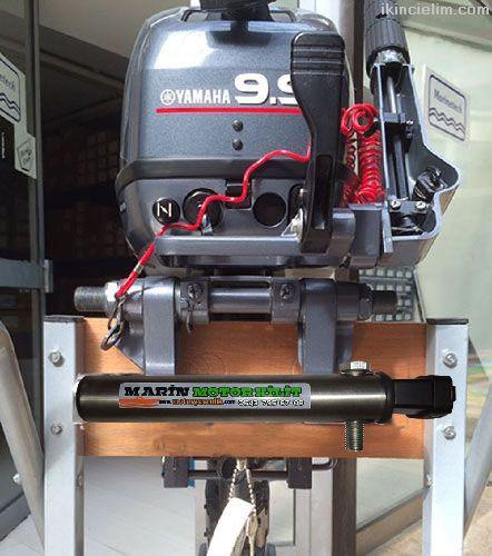 Dıştan Takma Tekne Bot Motor Kilidi Pvc Kaplı