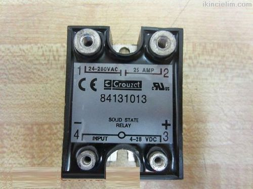 Solid State Röle Kontaktör Crouzet 280V Ac 25Amper