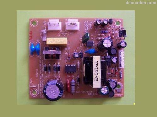 10 adet Uydu Alıcısı için Smps güç devresi - 10Wat