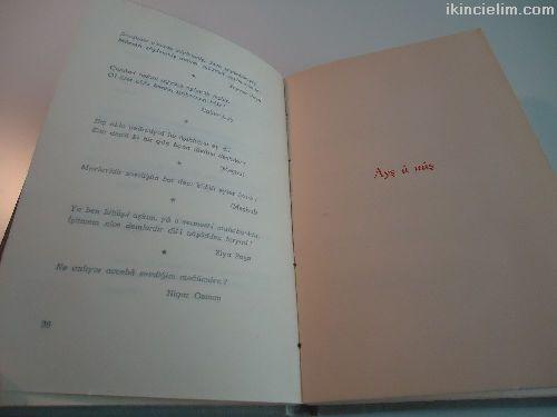 Aşk imiş her ne var alemde Şiir Kitabı