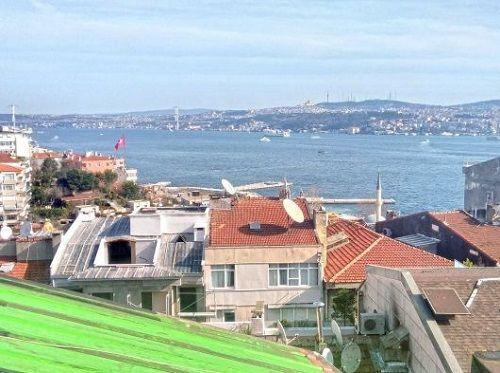 Beyoğlu,Cihangirde,Boğaz Manzaralı Kiralık Daire.