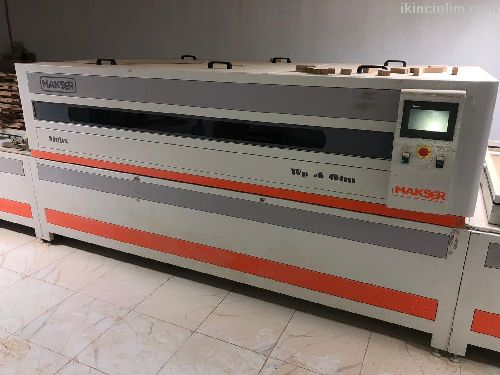 Makser Wp-4 Otm 3 Havuzlu Mebran Pres Makinası Plc
