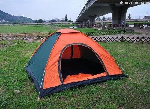 Sıfır 4 Kişilik Kamp Çadırı