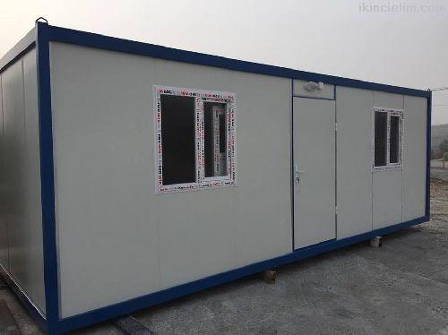 3X7 İki Oda Wc-Duş Evyeli Full Yalıtımlı Konteyner