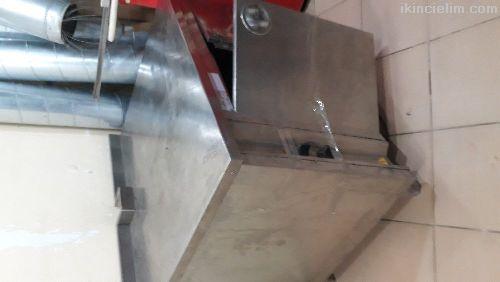 İkinciel tabak ısıtma tezğahı