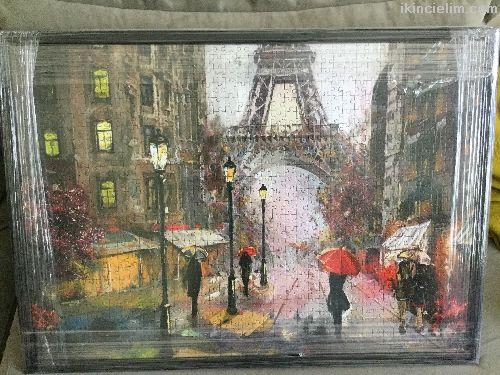 Satılık 1000 parça yapılmış puzzle Paris