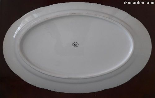 Oval Servis Tabağı 36*22,5 cm.