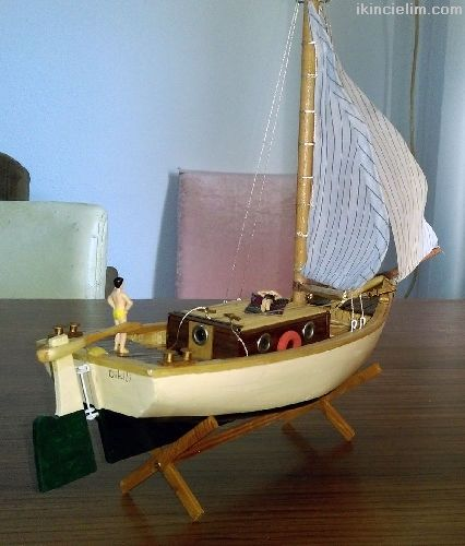 El yapımı Biblo Yelkenli Yat - Lodos
