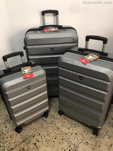 Valiz 3 lü set 4 tekerli