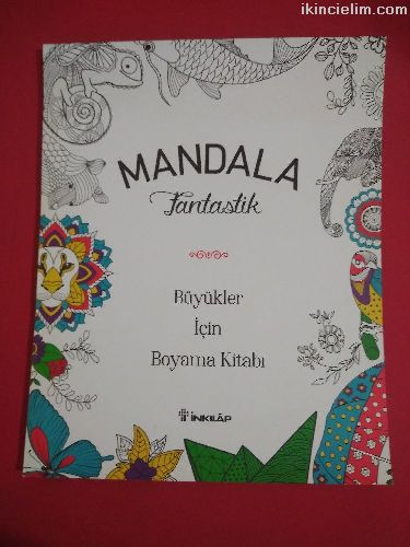 Mandala fantastik boyama kitabı