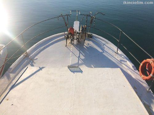 Çalışmaya hazır balıkçı teknesi