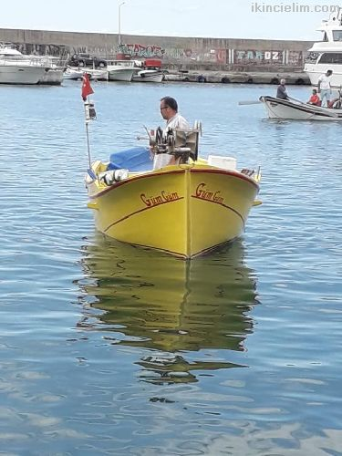 Ruhsatsız Bakımlı Balıkcı Teknesi