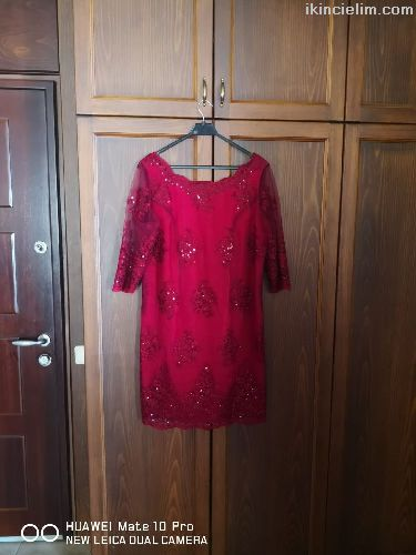 Büyük beden nişan elbisesi