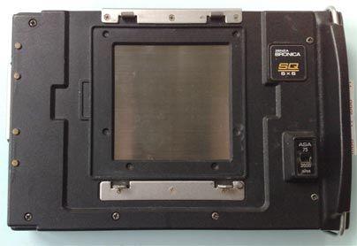 Polaroid Bronica Sq Kamera Arkası
