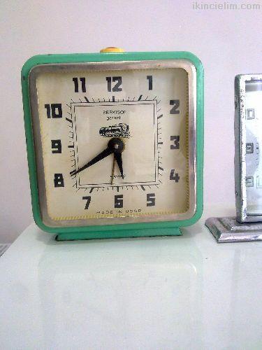 Alman ,Fransız, Rus Masa Saatleri