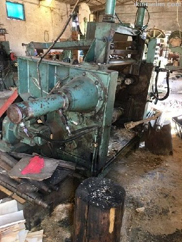 Agaç soyma makinası