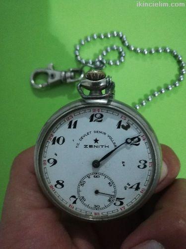 155 yıllık Tcdd Zenith markalı Antika saat