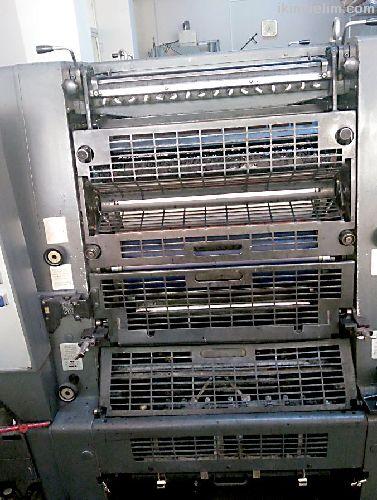 Sorunsuz İki Renkli Ofset Baskı Makinası