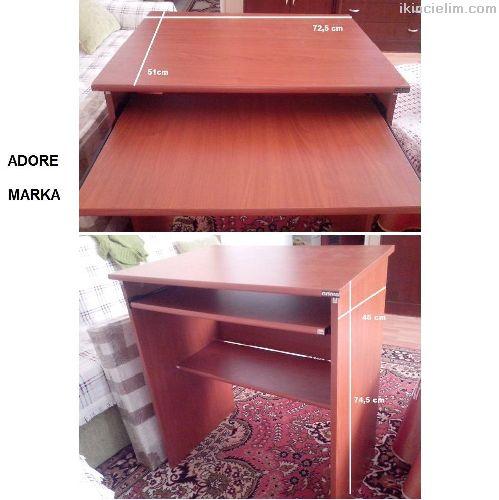 Adore marka bilgisayar masası sıfır teşhir ürünü