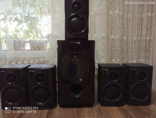 Life Maxx Marka 5+1 Ses Sistemi Satılıktır.