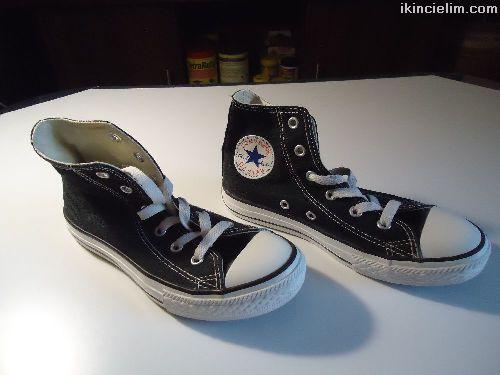 Converse All Star Siyah Boğazlı Tertemiz