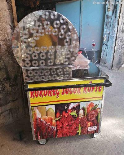 150 cm kokoreç köfte tezgahı kokoreç arabası