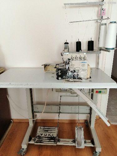 Juki 5 iplik Overlok Sanayi makinası