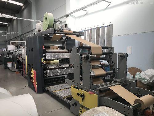 Full otomatik dipsiz kese kağıdı makinası