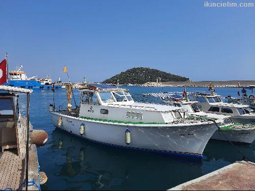 Yeşil Ruhsatlı, Bakımlı, Balıkçı Ve Gezi Teknesi
