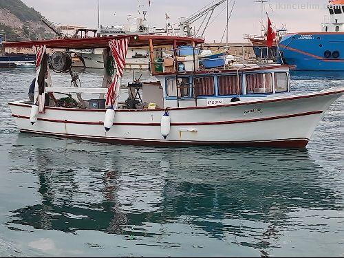 Yeşil Ruhsatlı, Rize Yapımı, Ayna Kıç Balıkçı Tek