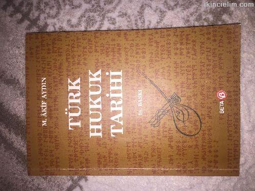 Türk Hukuk Tarihi M. Akif Aydın