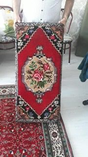 Kök boya kırşehir halı yastık