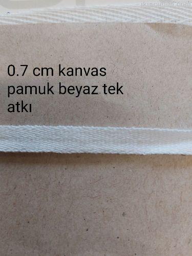 Kanvas Pamuk Beyaz (Optik)