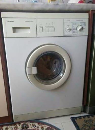 Simens çamaşır makinesi temiz sayılır çalışıyor sı