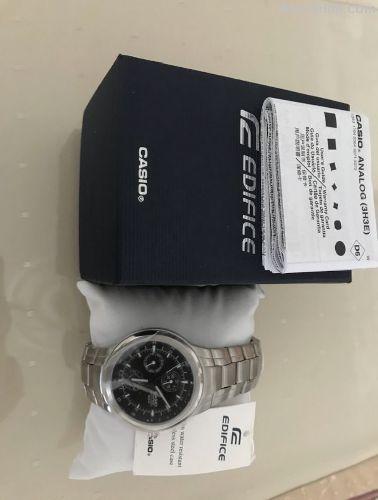 Sıfır Casio erkek saati (edifice)