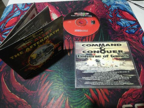 Command Conquer Red Alert The Aftermath Cd Lisans