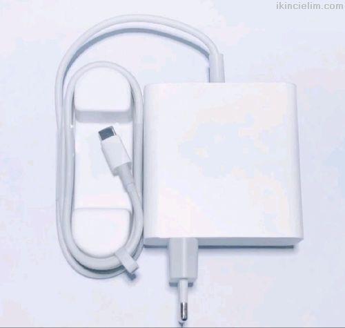 Xiaomi Type C 65 Watt Laptop Notebook Adaptör