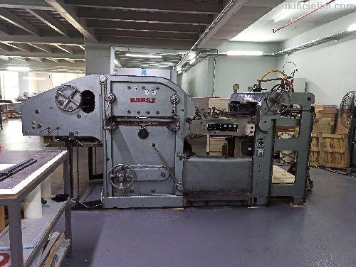 Bobst Sp 900 Kesim Makinesi
