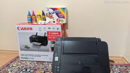 Acil Satılık 0 Ayarında Canon Pixma E3140