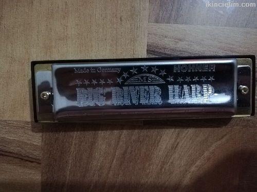 Hohner big river harp mızıka do majör